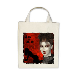 Dead Are Alive - Organic Grocery Tote Bags