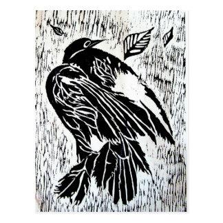 Dead Bird Postcard