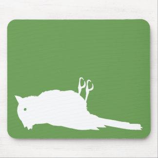 Dead Bird Roadkill Graphic Mouse Pad