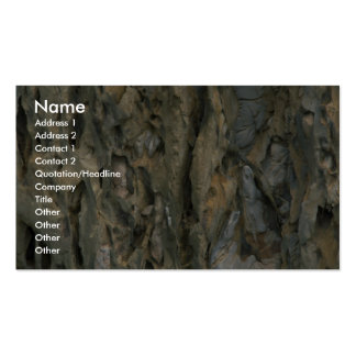 Dead branch close-up business card