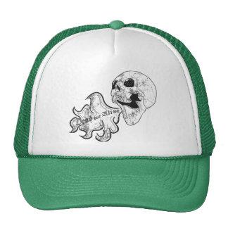 Dead but alive mesh hats