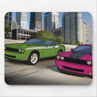 Dead Challenger racing Mouse Pad