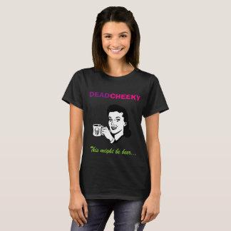 Dead Cheeky women's short sleeve black t-shirt