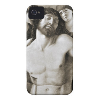 Dead Christ Between Two Angels by Giovanni Bellini iPhone 4 Cases