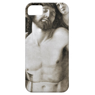 Dead Christ Between Two Angels by Giovanni Bellini iPhone 5 Cover