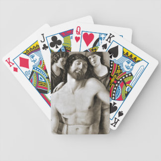 Dead Christ Between Two Angels by Giovanni Bellini Poker Deck
