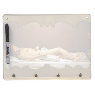 Dead Christ Dry Erase Board With Key Ring Holder