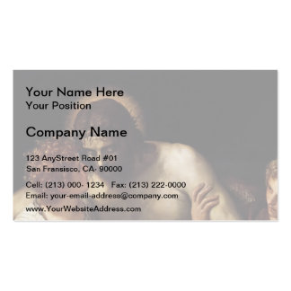 Dead Christ Supported by Angels by Paolo Veronese Business Cards