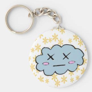 Dead cloud keychain