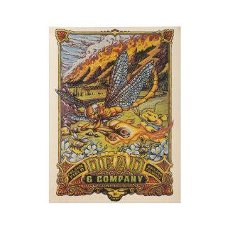 Dead & Co - '17 Boulder (2) Wood Poster