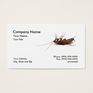 Dead Cockroach Business Card