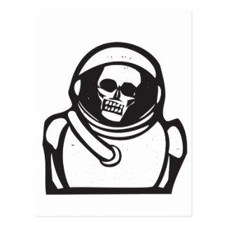 Dead Cosmonaut Postcard