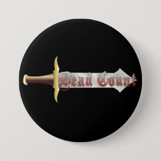 Dead Count Logo 7.5 Cm Round Badge