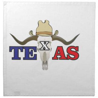 dead cowboy texas napkin