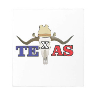 dead cowboy texas notepad