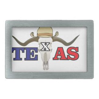dead cowboy texas rectangular belt buckles