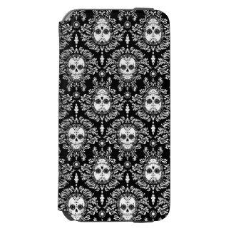 Dead Damask - Chic Sugar Skull Pattern Incipio Watson™ iPhone 6 Wallet Case