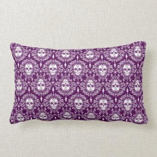 Dead Damask - Chic Sugar Skull Pattern Lumbar Cushion