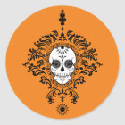 Dead Damask - Chic Sugar Skull Stickers