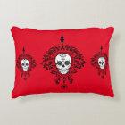 Dead Damask - Chic Sugar Skulls Accent Pillow