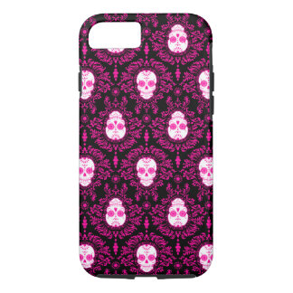 Dead Damask - Chic Sugar Skulls iPhone 7 Case