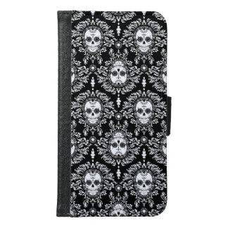 Dead Damask - Chic Sugar Skulls Samsung Galaxy S6 Wallet Case