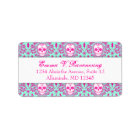 Dead Damask - Custom Sugar Skull Address Labels