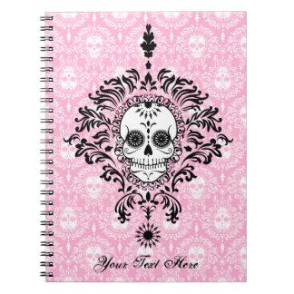 Dead Damask - Custom Sugar Skull Notebook