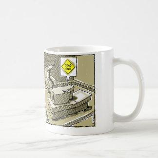 Dead End Basic White Mug