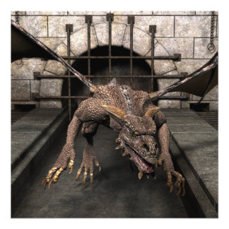 Dead End Dragon Is Looking For Some Dinner - You Art Photo