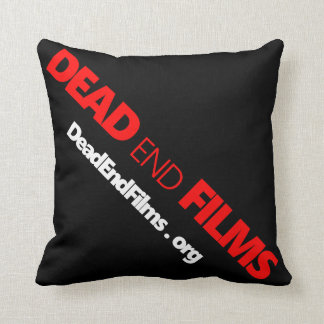 Dead End Films Throw Pillow