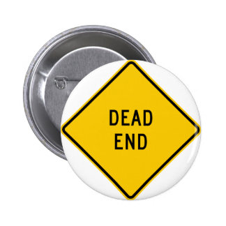Dead End Highway Sign Pins