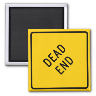 Dead End Highway Sign Fridge Magnet