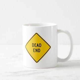 Dead End Highway Sign Mug