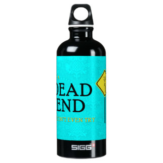 dead end SIGG traveller 0.6L water bottle