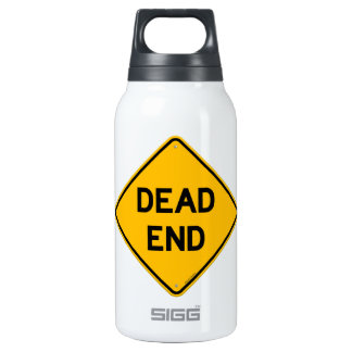 Dead End Sign 0.3 Litre Insulated SIGG Thermos Water Bottle