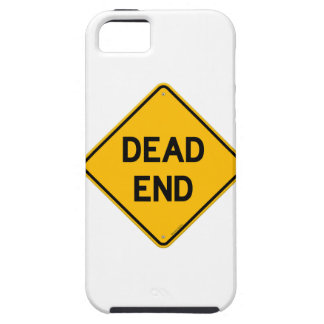 Dead End Sign iPhone 5 Covers