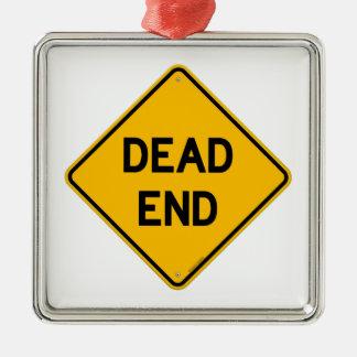 Dead End Sign Christmas Ornament
