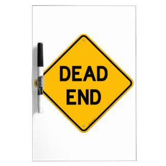 Dead End Sign Dry-Erase Boards