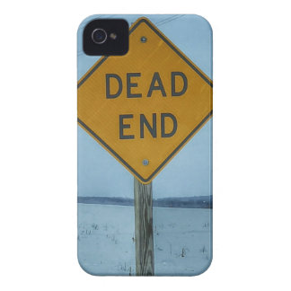 Dead End Sign iPhone 4 Cover