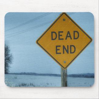 Dead End Sign Mouse Pad