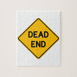 Dead End Sign Puzzle