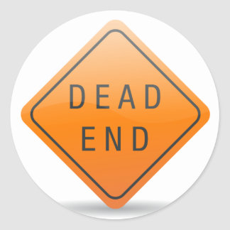 Dead End Stickers