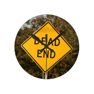Dead End Street Sign Clock