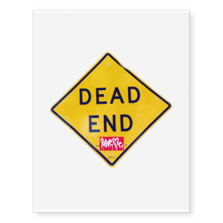 Dead End tattoo