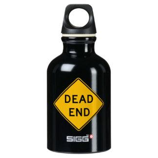 Dead End, Traffic Warning Sign, USA SIGG Traveller 0.3L Water Bottle