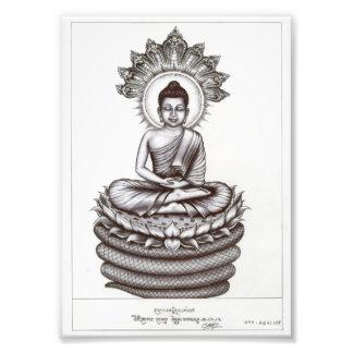 Dead Eye Photo of the Buddha by Vannak Anan Prum