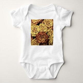 Dead Flowers Baby Bodysuit
