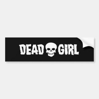 Dead Girl Logo Bumper Sticker