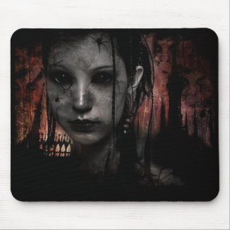 Dead Girl Mouse Pad
